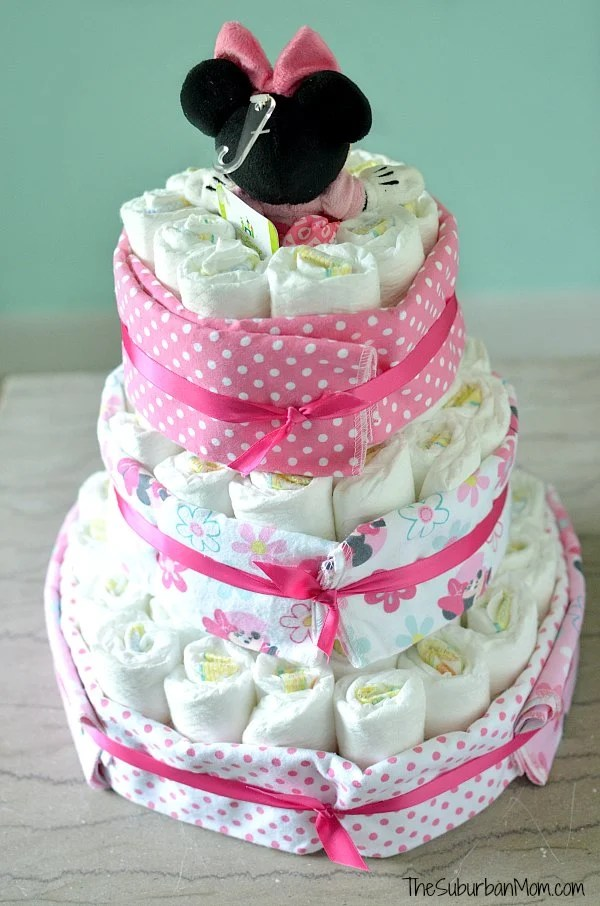 Back of Diaper Cake