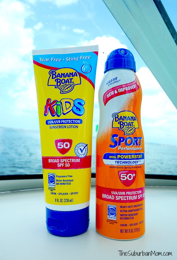 Banana Boat Sunscreen
