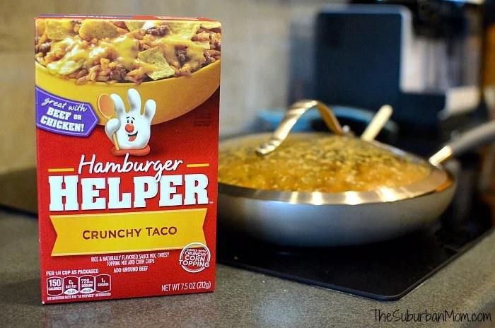 Hamburger Helper Crunchy Taco