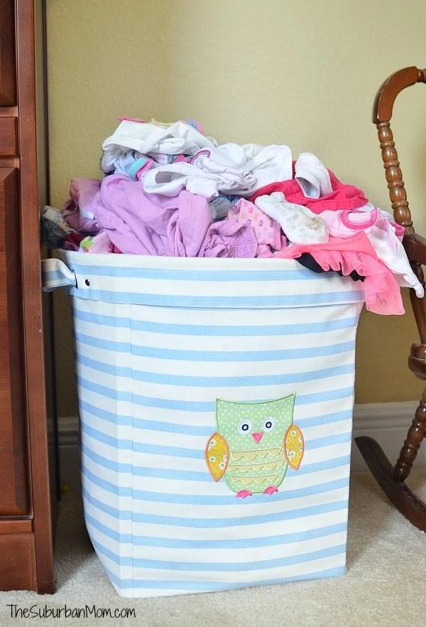 Owl Laundry Basket