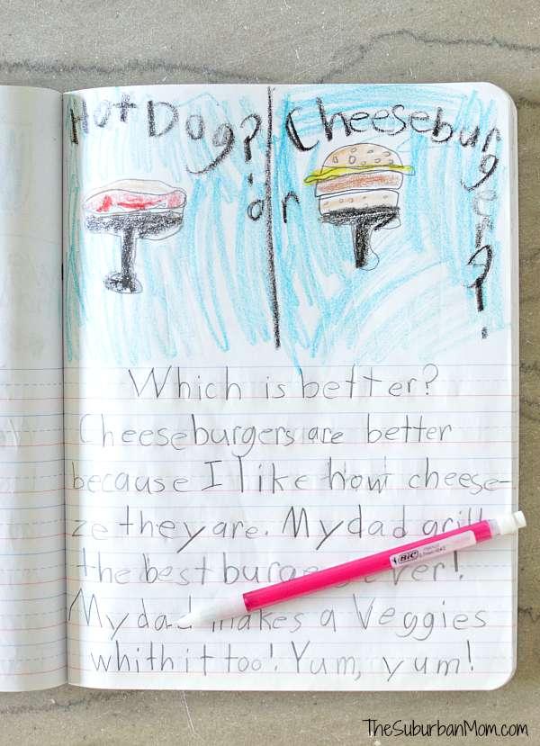 Kids Writing Prompts