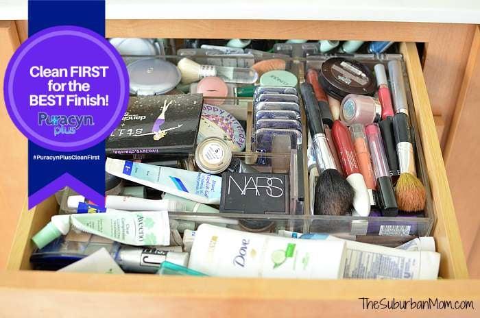 Messy Makeup Drawer