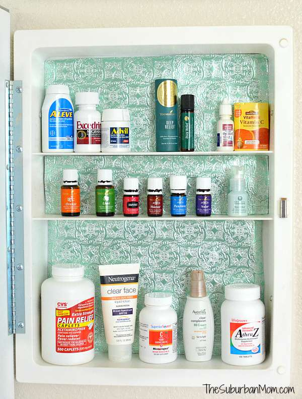 Organized Medicine Cabinet Young Living