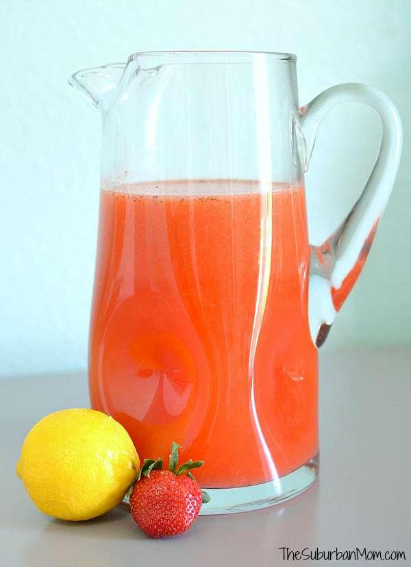 Strawberry Lemonade Mocktail