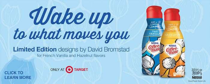 Target Coffee Mate David Bromstad