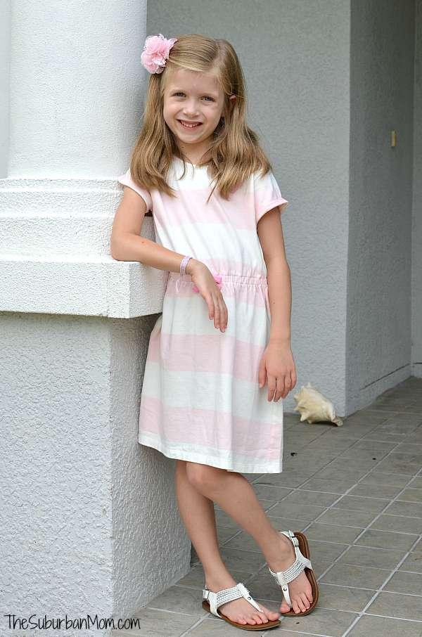 Gymboree Pink Stripe Dress
