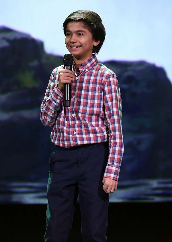 Jungle Book Neel Sethi D23 Expo