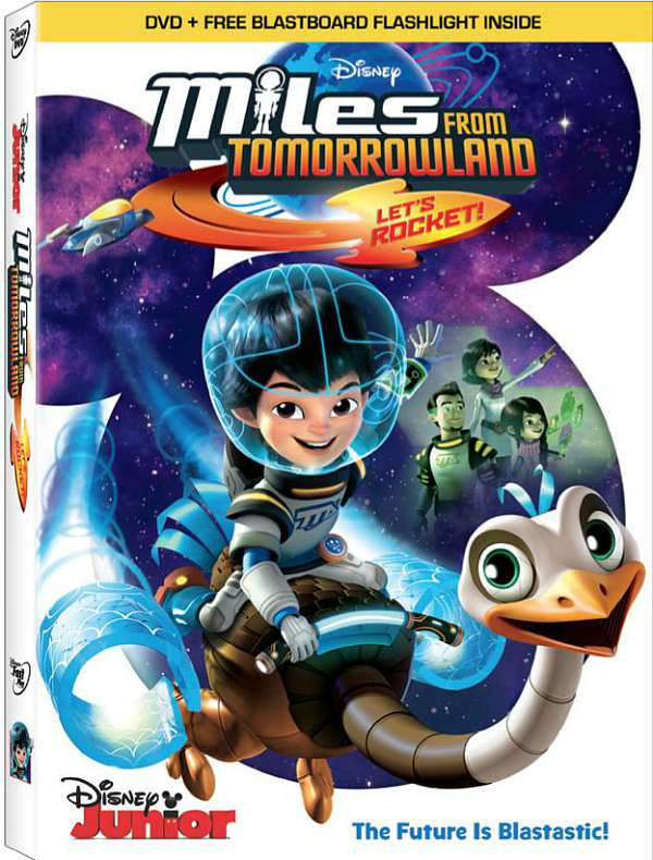 Miles From Tomorrowland DVD