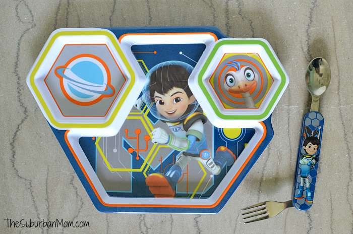 Miles From Tomorrowland Plate Utensils