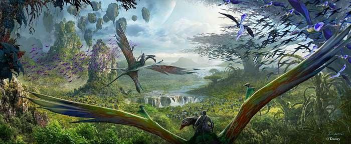 Pandora – The World of Avatar Rendering