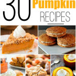 30 Pumpkin Recipes