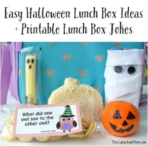 Printable Halloween Lunch Box Jokes