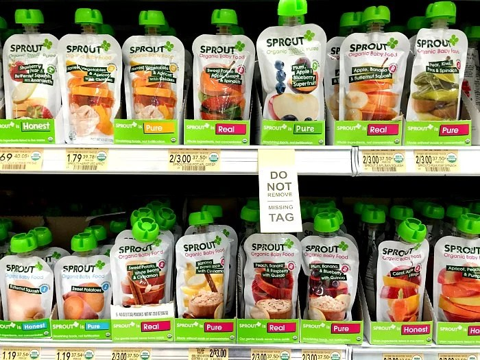 Sprout Organic Baby Food Publix