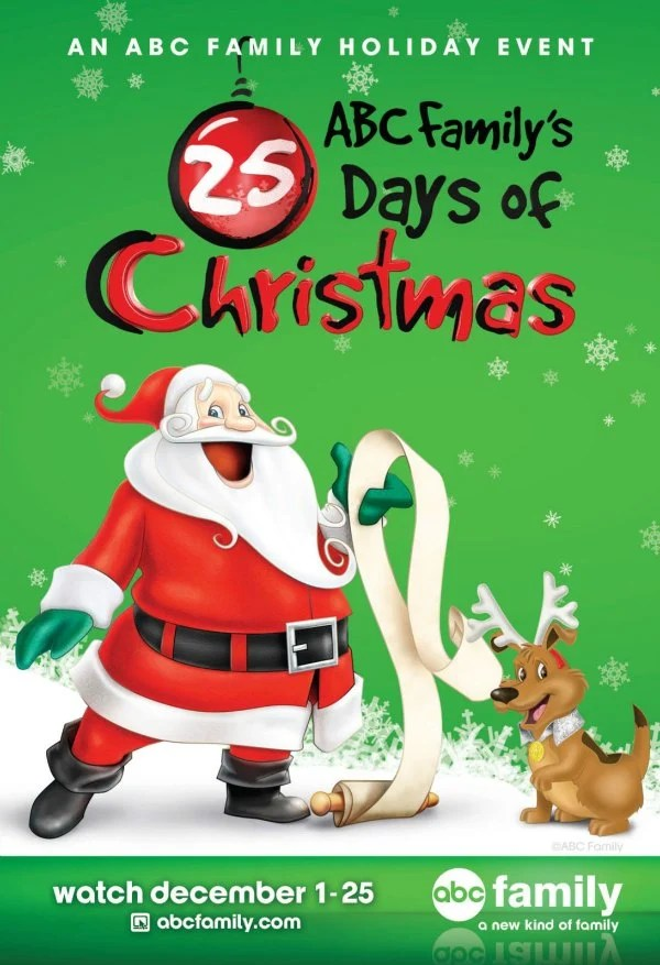 25 days of christmas schedule - 25 Days Of Christmas Lineup