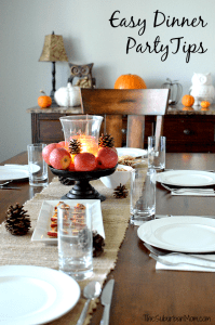 Easy Dinner Party Tips