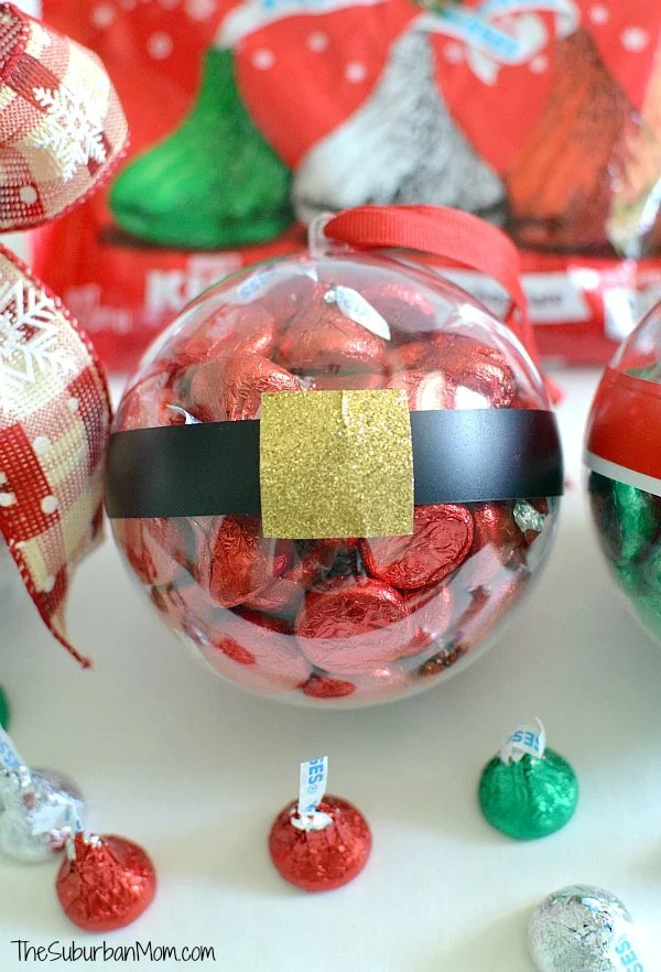 Hershey's Kiss Christmas Ornament