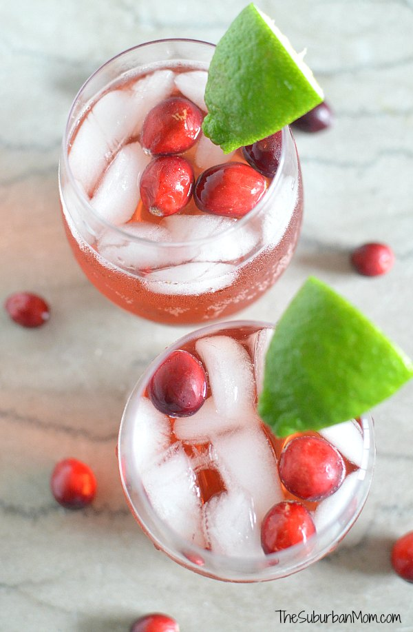 Cranberry 7Up Punch