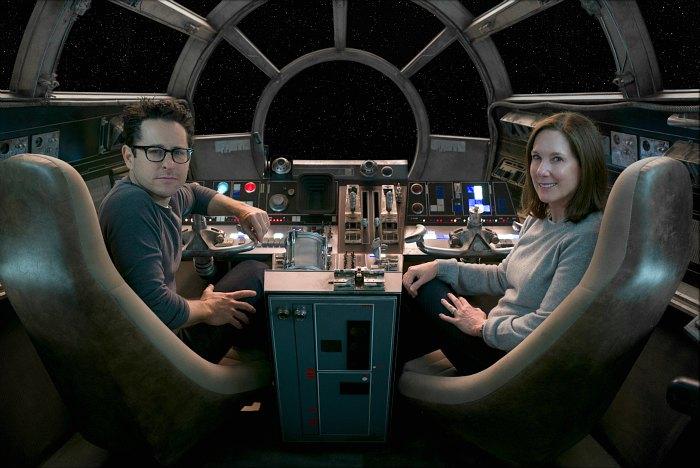 JJ Abrams Kathleen Kennedy Star Wars