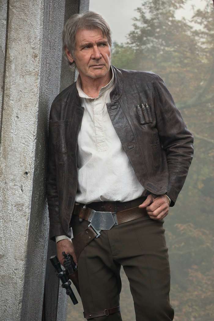 Star Wars The Force Awakens Harrison Ford Han Solo