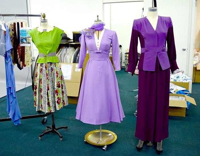 Agent Carter Women's California Wardrobe