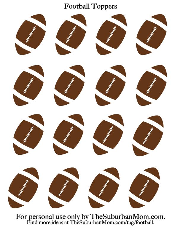 Free Football Printable