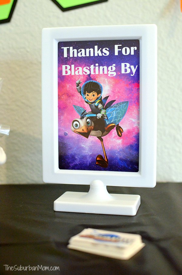 Miles From Tomorrowland Sign