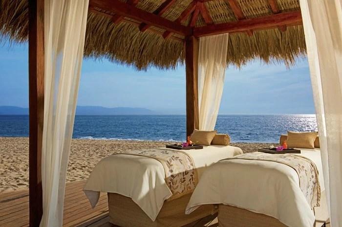 Couples Massage On Beach