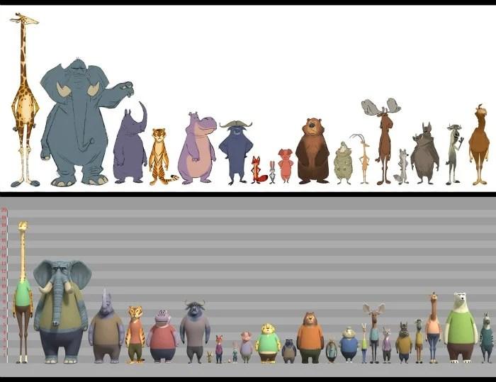 Zootopia Characters