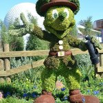 Flower and Garden Festival Mickey Mouse Topiary