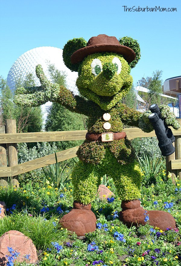 Flower and Garden Festival 2016 Mickey Mouse Topiary