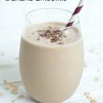 Chocolate Oatmeal Banana Smoothie