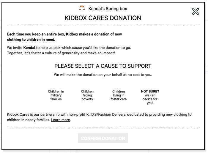 Kidbox Donation