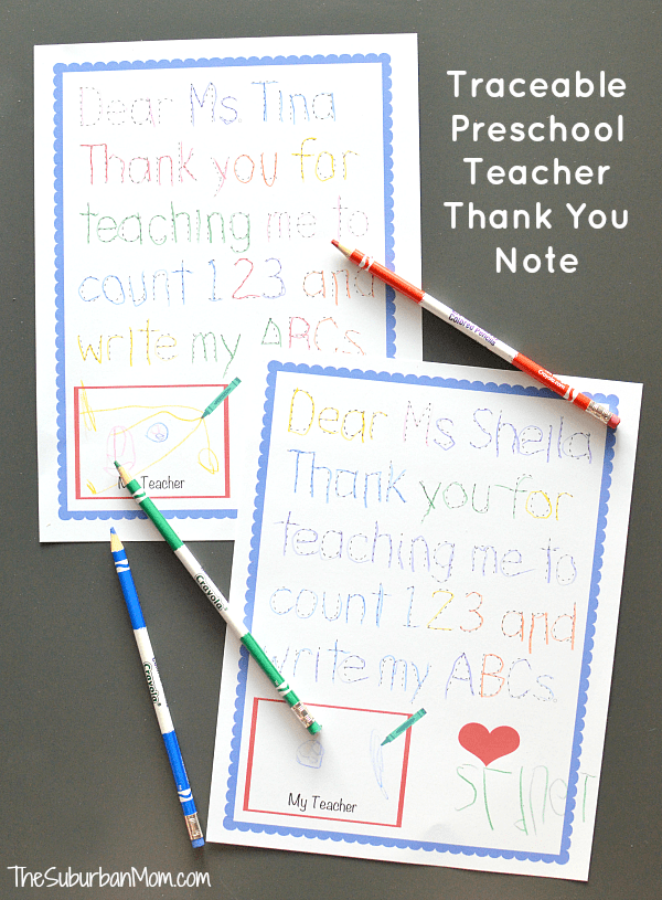 more thank you teacher gift ideas