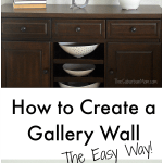 How To Create A Gallery Wall – The Easy Way
