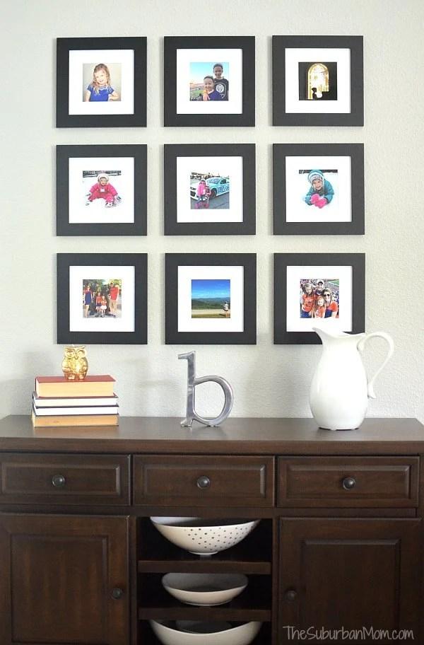 Instagram Gallery Wall