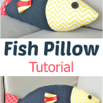 Fish Pillow Tutorial