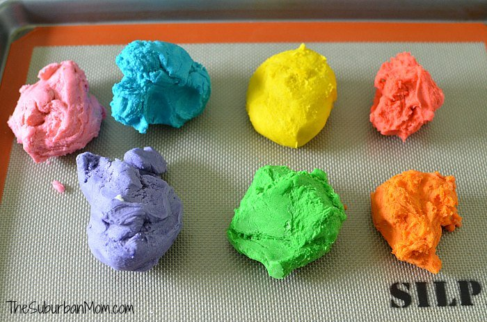 Colorful Cookie Dough