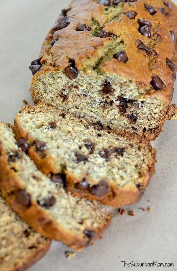 Ultimate Chocolate Chip Banana Bread