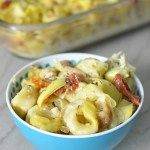 Chicken Pesto Tortellini Bake