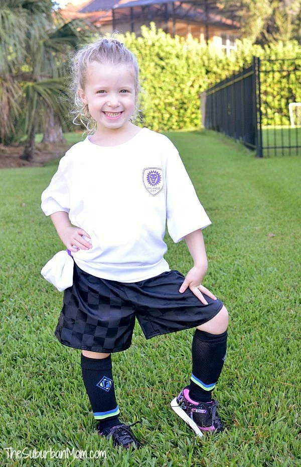 First Day Playing Soccer