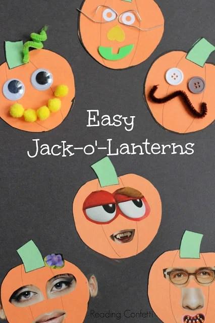 Magazine Jack O Lantern Craft