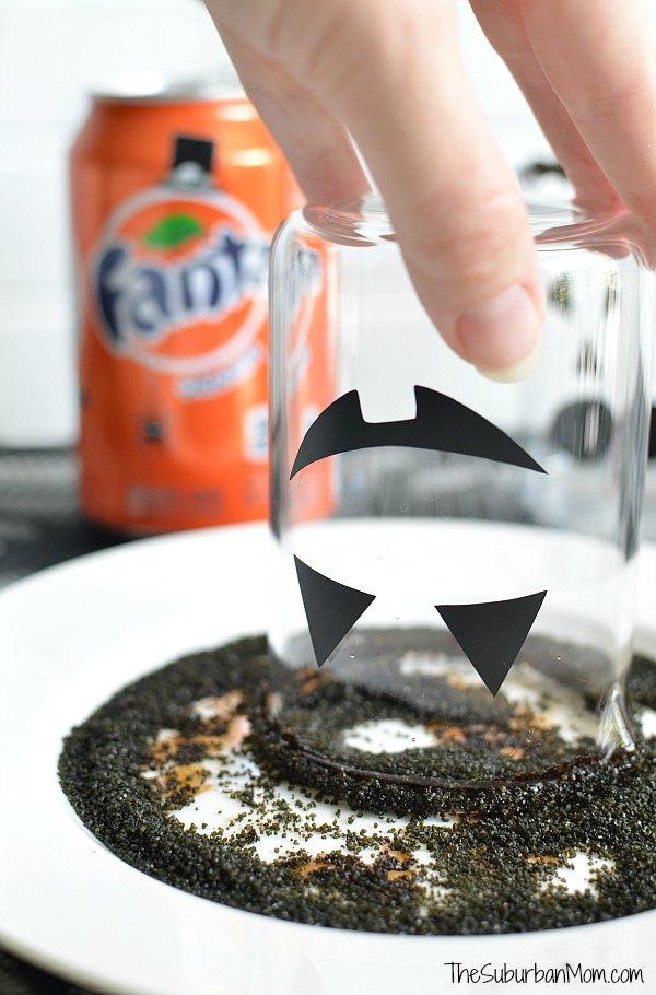 Rim Glass Pumpkin Punch