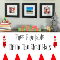 Printable Elf On The Shelf Hats For Family Photos