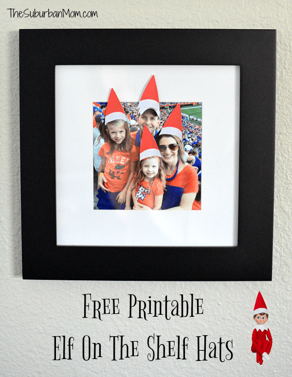 Printable Elf on the Shelf Hats