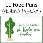 10 Food Pun Valentine's Day Cards