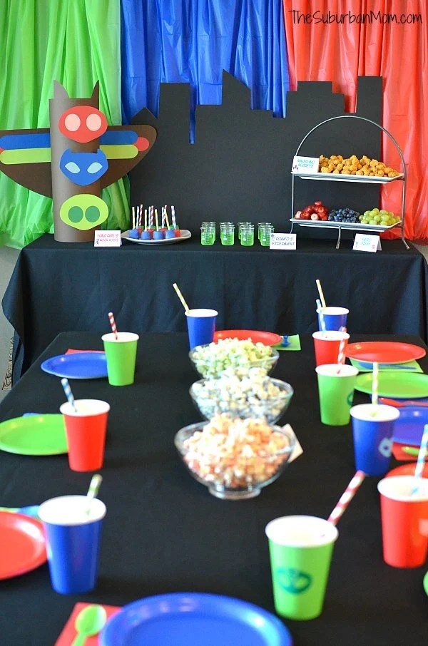 photo regarding Pj Masks Mask Printable identify PJ Masks Birthday Occasion Suggestions And Totally free Printables - The