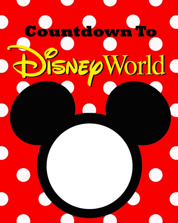 image regarding Disney Countdown Printable named Totally free Disney International Countdown Printable - The Suburban Mother
