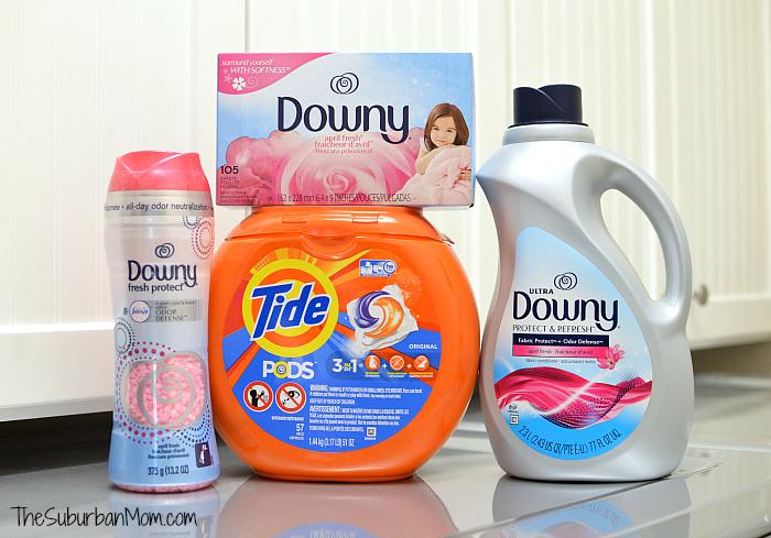 Tide Downy New School Laundry