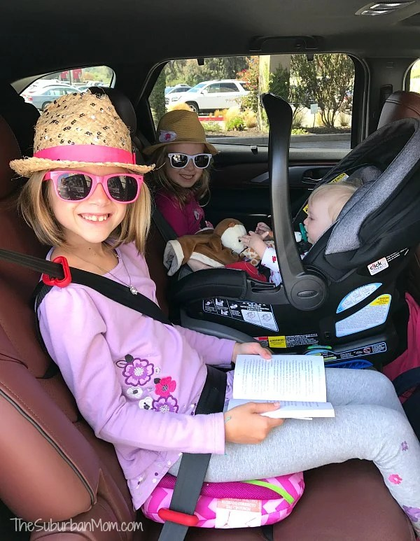 3 Carseats Across Mazda CX-9