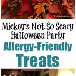 Allergy Friendly Treats At Mickey's Not So Scary Halloween Party